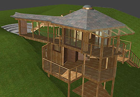 Gazebo Bath House